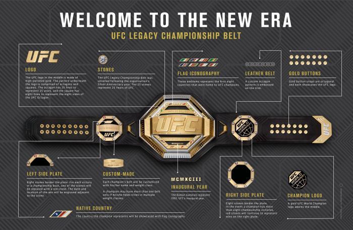 New UFC Belt
