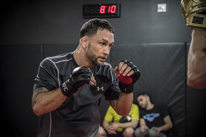 Las Vegas 2/28/18 - Frankie Edgar workout at the UFC Performance Institute in preparation for UFC 222 (Photo credit: Juan Cardenas)