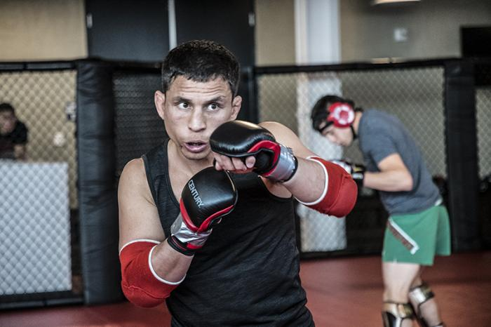 Las Vegas 3/20/18 - Flyweight Joseph Benavidez at the UFC Performance Institute in Las Vegas.