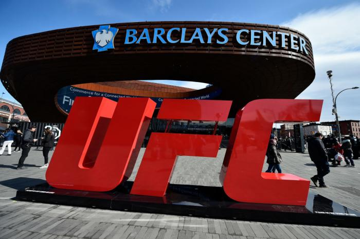 BROOKLYN, NEW YORK - APRIL 07:  A general view of the Barclays Center prior to the start of the UFC 223 event on April 7, 2018 in Brooklyn, New York. (Photo by Brandon Magnus/Zuffa LLC/Zuffa LLC via Getty Images)