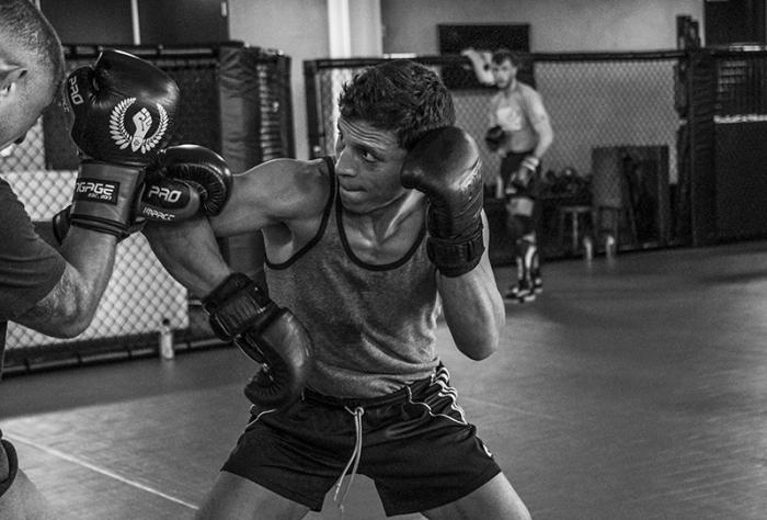 Las Vegas 5/18/18 - UFC fighter Joseph Benavidez at the UFC Performance Institute in las Vegas. (Photo credit: Juan Cardenas)