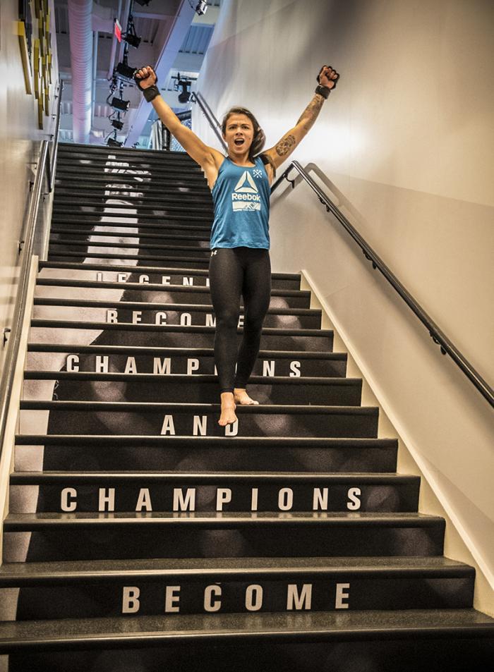Las Vegas 5/10/18 - UFC fighter Claudia Gadelha at the UFC Performance Institute in las Vegas. (Photo credit: Juan Cardenas)