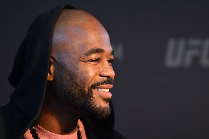 CHICAGO, ILLINOIS - JUNE 07:   Rashad Evans interacts with media during the UFC 225 Ultimate Media Day at the United Center on June 7, 2018 in Chicago, Illinois. (Photo by Josh Hedges/Zuffa LLC/Zuffa LLC via Getty Images)