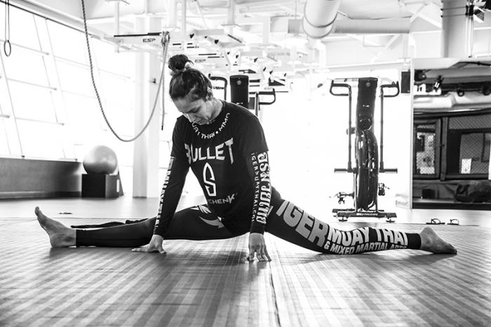 Las Vegas 5/27/18 - Antonina Shevchenko at the UFC Performance Institute in las Vegas preparing for Dana White's Tuesday Night Contender Series. (Photo credit: Juan Cardenas)