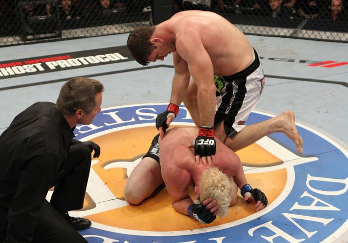 "Michael Bisping vs Jason ""Mayhem"" Miller"