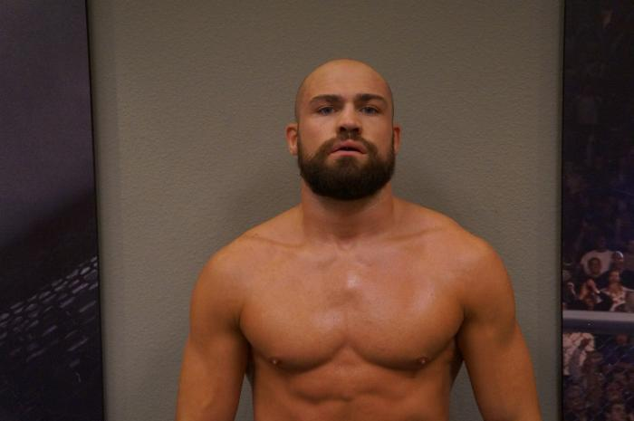 The Ultimate Fighter 19 contestant Cathal Pendred before his bout with Hector Urbina.