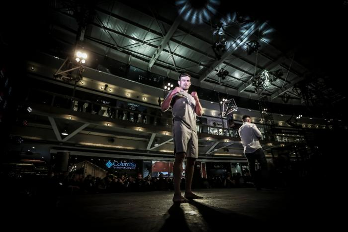 Demian Maia UFC Chile open workouts