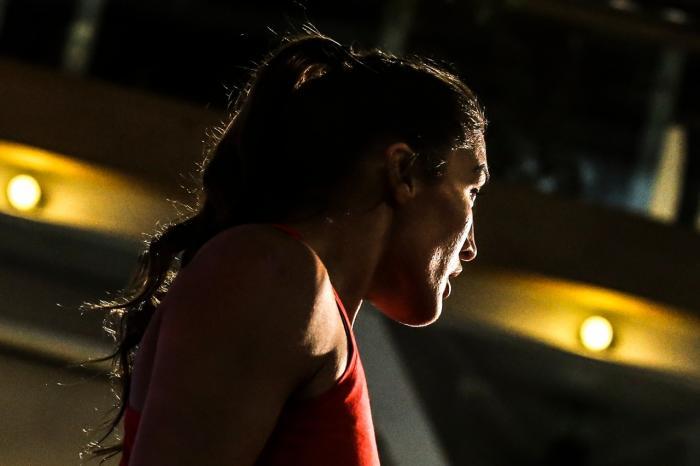 Tatiana Suarez at the UFC Chile open workouts