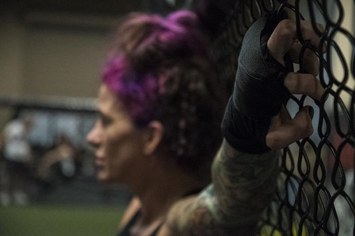 11/16/17 - Las Vegas, Xtreme Couture MMA - Gina Mazany prepares for UFC Shanghai 2017 (Photo credit Juan Cardenas)