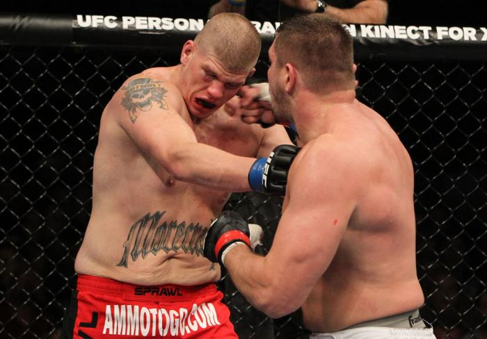 Matt Mitrione vs Christian Morecraft