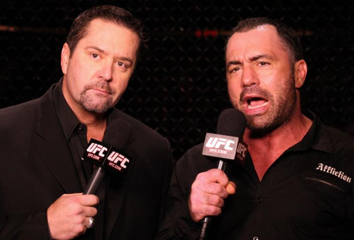 Mike Goldberg & Joe Rogan