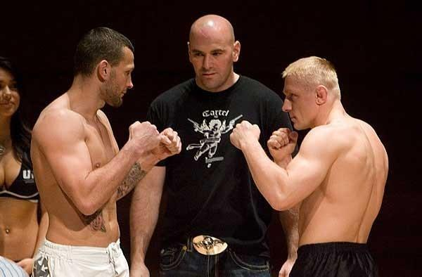 UFC 70: Nations Collide Weigh-In:  Dennis Siver & Jess Liaudin