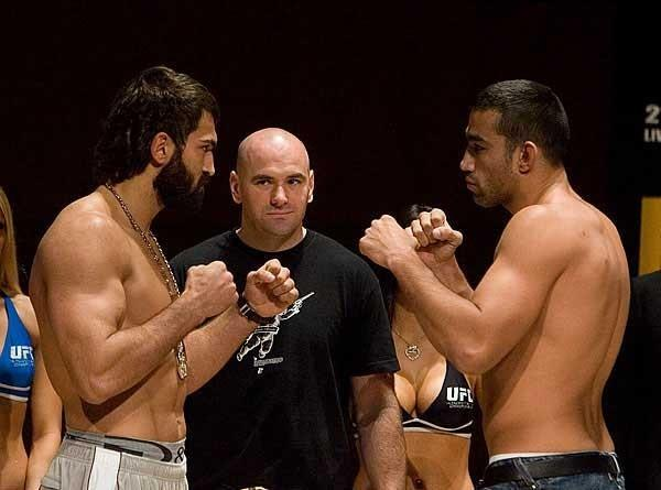 UFC 70: Nations Collide Weigh-In: Andrei Arlovski & Fabricio Werdum