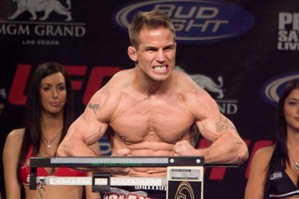 UFC 84 Weigh-In Sean Sherk