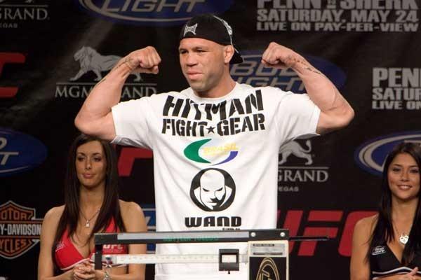 UFC 84 Weigh-In Wanderlei Silva