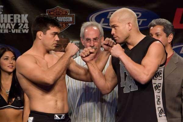 UFC 84 Weigh-In Lyoto Machida & Tito Ortiz