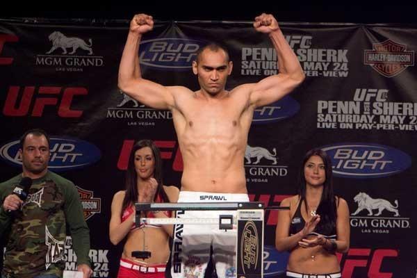 UFC 84 Weigh-In Antonio Mendes
