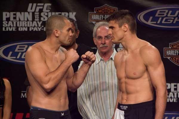 UFC 84 Weigh-In Wilson Gouveia & Goran Reljic