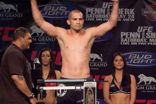UFC 84 Weigh-In Wilson Gouveia