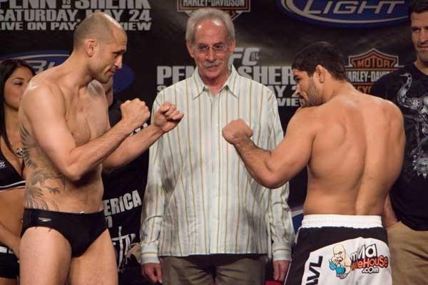 UFC 84 Weigh-In Ivan Salaverry & Rousimar Palhares