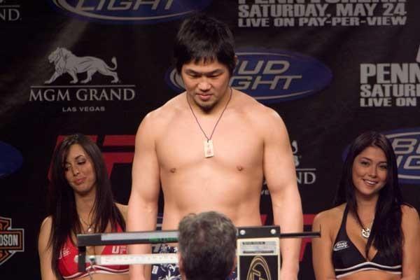 UFC 84 Weigh-In Kazuhiro Nakamura