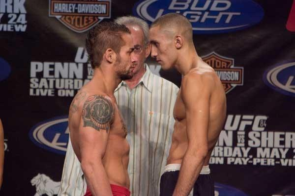 UFC 84 Weigh-In Rich Clementi & Terry Etim