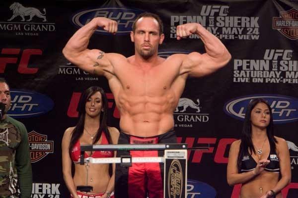 UFC 84 Weigh-In Shane Carwin