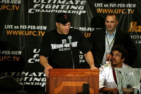 UFC 43 Press Conference