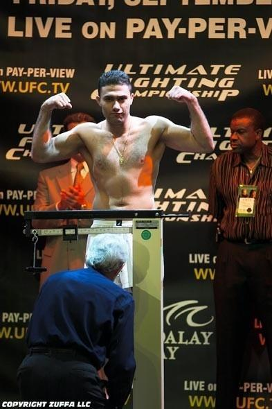 UFC 44 Weigh In
