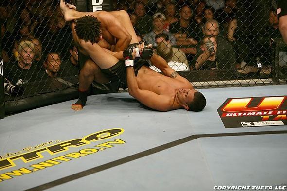 UFC 46 Event Carlos Newton vs. Verissimo