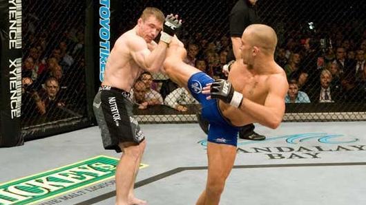 UFC 79 Nemesis Georges St-Pierre vs Matt Hughes