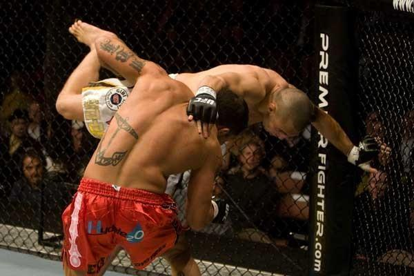 UFC 79 Nemesis James Irvin vs Luiz Cane