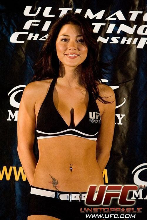 Arianny Lopez UFC 64 Weigh In