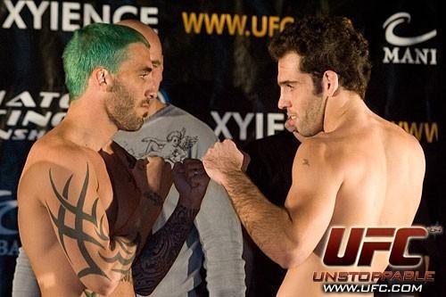 Kurt Pelligrino Junior Assuncao UFC 64 Weigh In