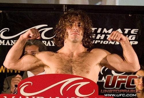 Clay Guida UFC 64 Weigh In
