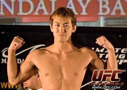 Yushin Okami UFC 64 Weigh In