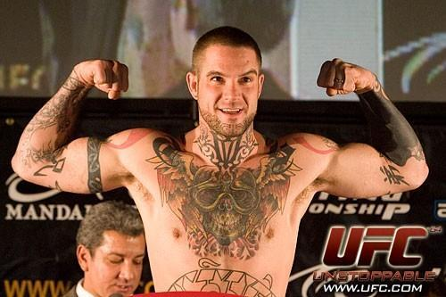 Mike Nickels UFC 64 Weigh In
