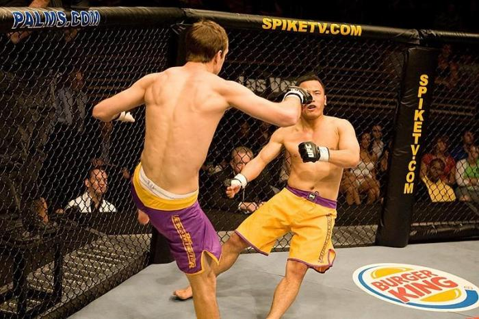 The Ultimate Fighter 5 Finale Cole Miller vs Andy Wang