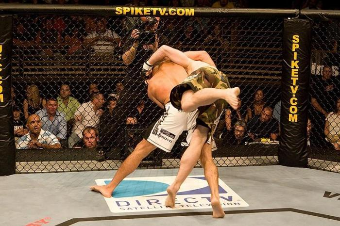 The Ultimate Fighter 5 Finale Thales Leites vs Floyd Sword