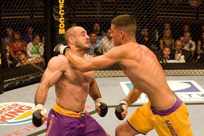The Ultimate Fighter 5 Finale Nate Diaz vs Manny Gamburyan