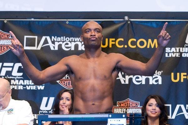 UFC 82 Weigh-In Anderson Silva
