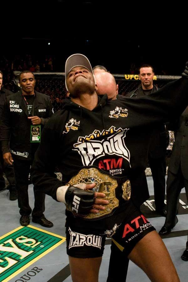 UFC 82 Anderson Silva