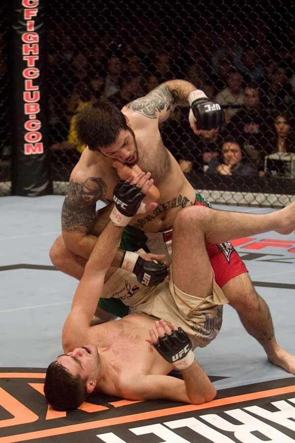 UFC 82 Luigi Fioravanti vs Luke Cummo