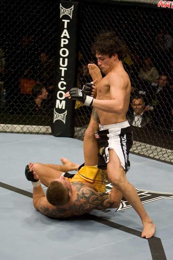 UFC 82 Diego Sanchez vs David Bielkheden