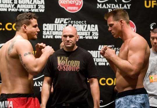 UFC 74 Weigh In Frank Mir & Antoni Hardonk