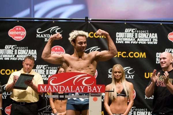 UFC 74 Weigh In Josh Koscheck