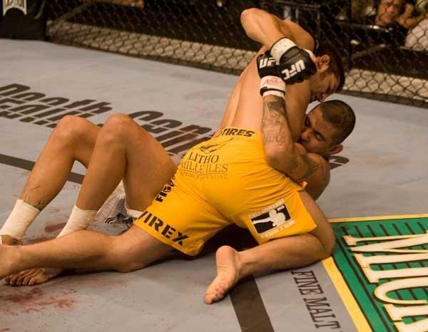 UFC 74: Respect Patrick Cote vs. Kendall Grove
