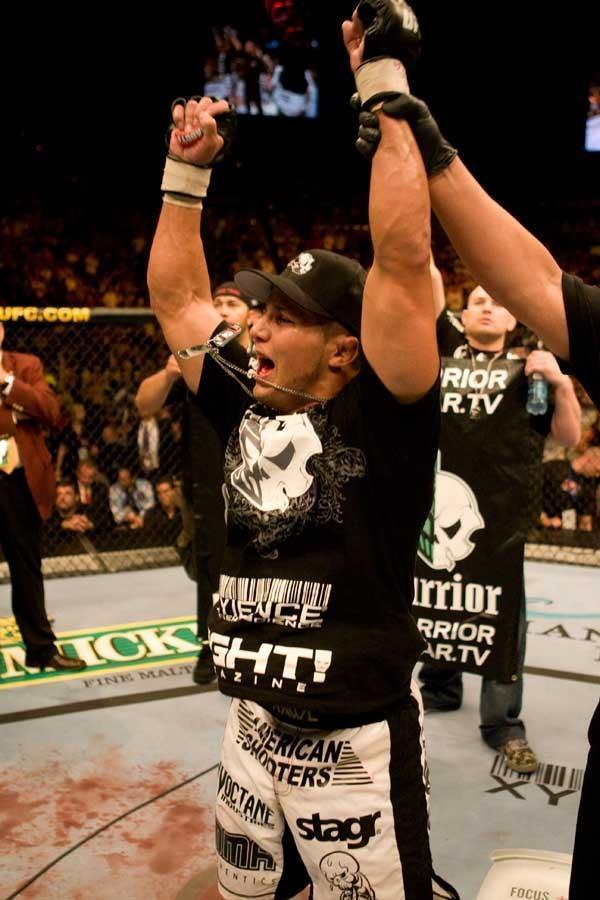 UFC 74: Respect Joe Stevenson