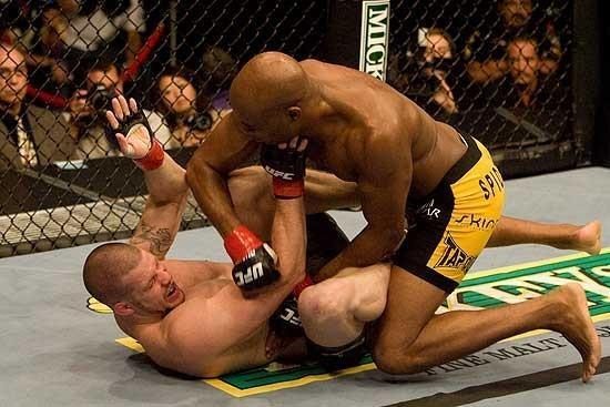 Anderson Silva vs Nate Marquardt UFC 73