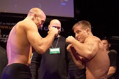 UFC 56 weigh-in Sean Sherk vs Georges St. Pierre